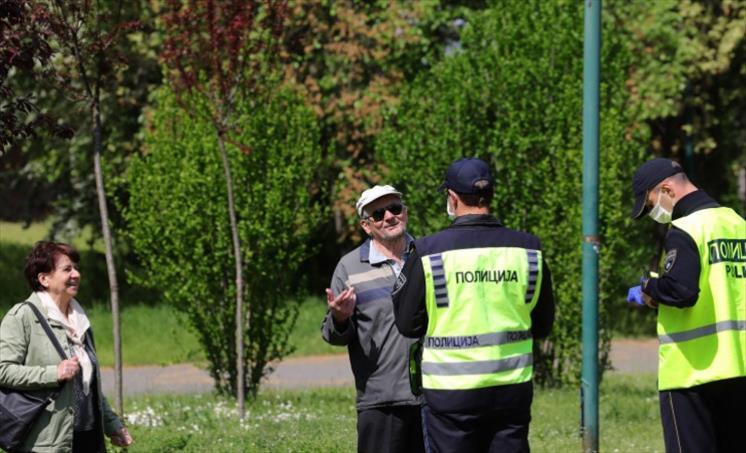 Слика од Струшката полиција изрекла 1.771 казна за неносење маски од почетокот на пандемијата