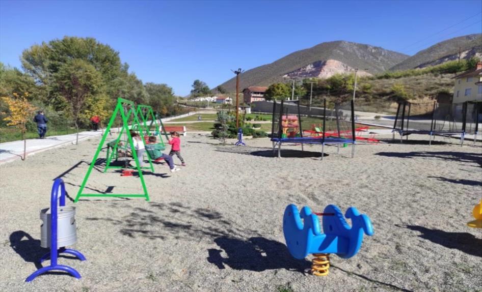Слика од Детско катче и уреден парк на местото на некогашното ѓубриште во Балиндол, гостиварско