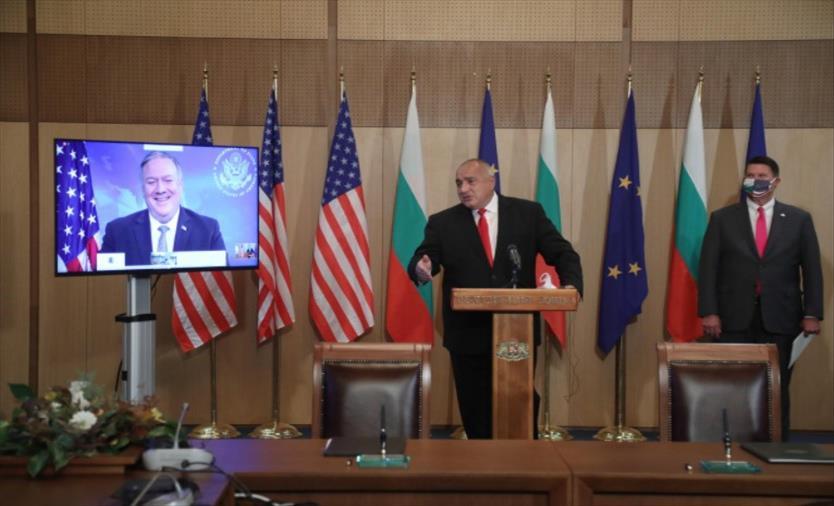 Слика од Бугарија и САД потпишаа документи од областа на 5Г мрежите и нуклеарната енергија