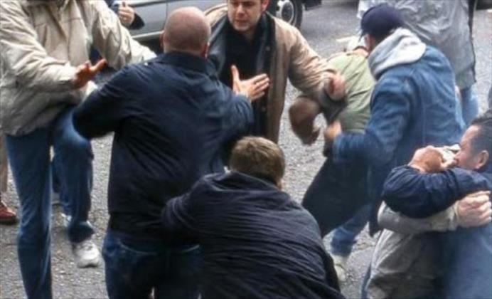 Слика од Физичка пресметка помеѓу две семејства во Кондово, имало и пукање и удари со нож