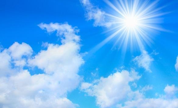 Слика од Сончево со мала до умерена облачност