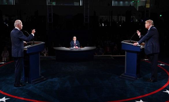 Слика од Последната дебата меѓу Трамп и Бајден ја следеле 63 милиони луѓе