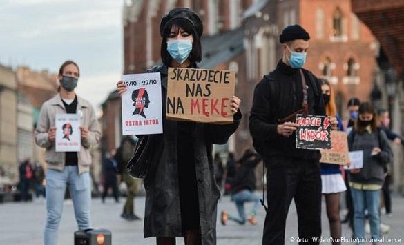 Слика од Протести во Полска поради строгите мерки за коронавирус
