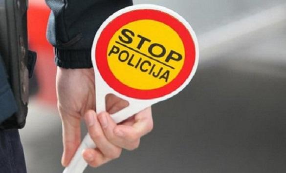 Слика од 218 санкционирани возачи во Драчево