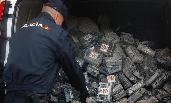 Слика од Уапсени шест лица во Шпанија поради половина тон кокаин