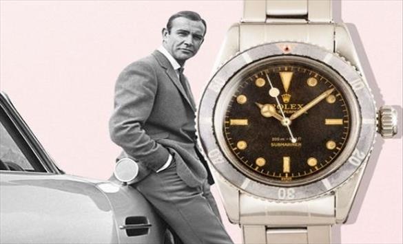 """Слика од """"Ролекс"""" часовник на Шон Конери од 1960-тите оди на аукција"""
