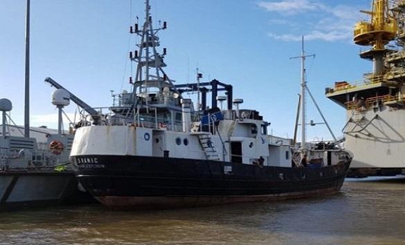 Слика од На британскиот брег,во рибарски брод, откриени 69 албански имигранти