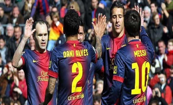 Слика од Барселона е првиот клуб во последните 16 години со двајца Американци во составот на натпревар од ЛШ