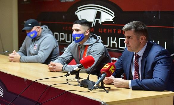 Слика од Димовски: Боксот го враќаме на победнички патеки, горди сме на успехот на Ардијан Аземи
