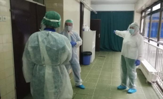 Слика од 812 пациенти се лекуваат во болнички услови во Македонија
