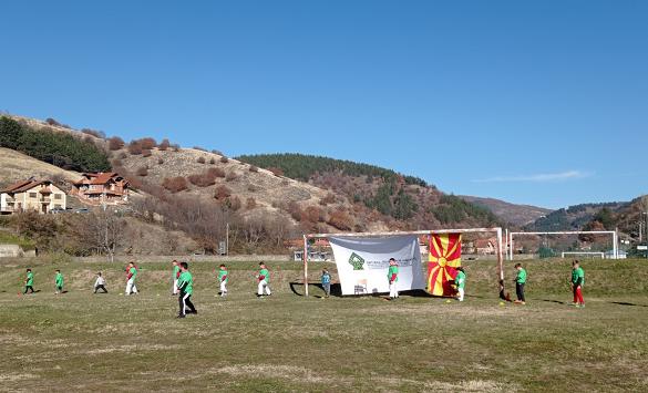 """Слика од Во Крива Паланка се одржа настанот """"Ние спортуваме-дистанца одржуваме-мерки почитуваме"""""""