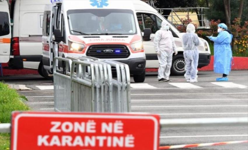 Слика од Во Албанија 545 новозаразени, 397 оздравени и 16 починати од последици од Ковид-19