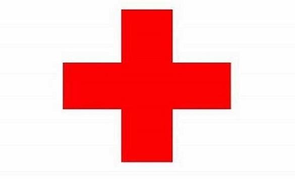 Слика од Црвен крст монтира тријажен шатор пред Здравствен дом Неготино
