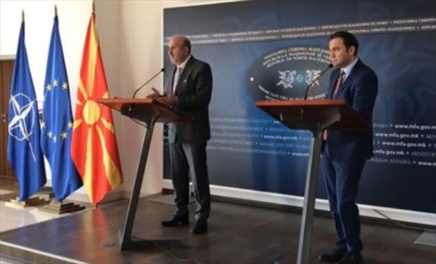 Слика од Османи и Бучковски се запознаа: Акциските планови меѓу Скопје и Софија ќе ги координира Бучковски