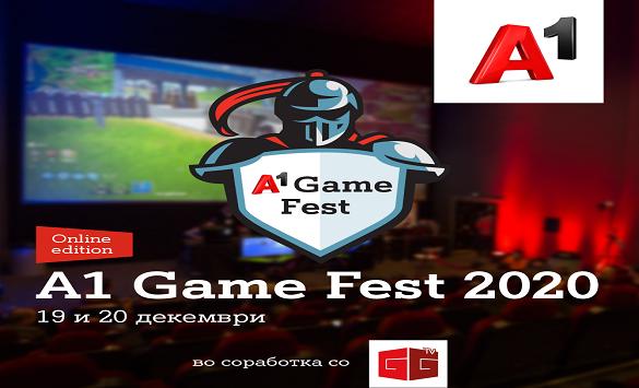 Слика од А1 Game Fest со финале на 19 и 20 декември