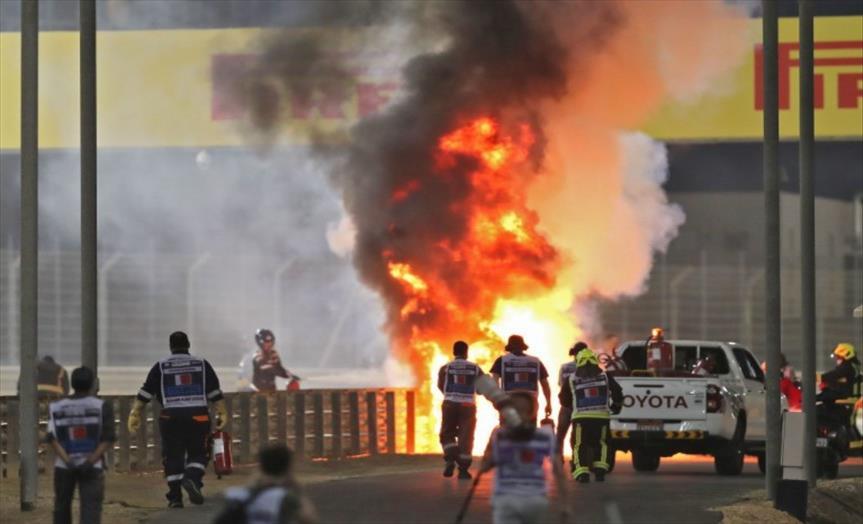 Слика од ФИА ќе ја истражува страшната несреќа на Грожан