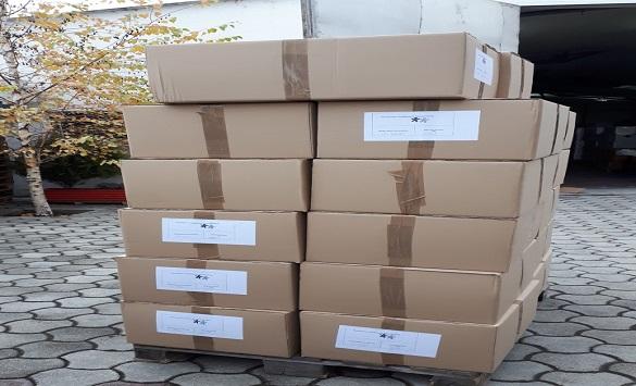 """Слика од Детската фондација """"Песталоци"""" донираше 27 илјади маски за деца од семејства со ниски приходи"""