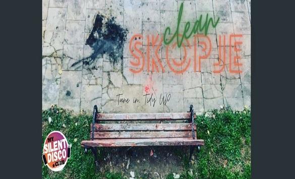 """Слика од """"Го чистиме Скопје во звуците на музиката"""""""