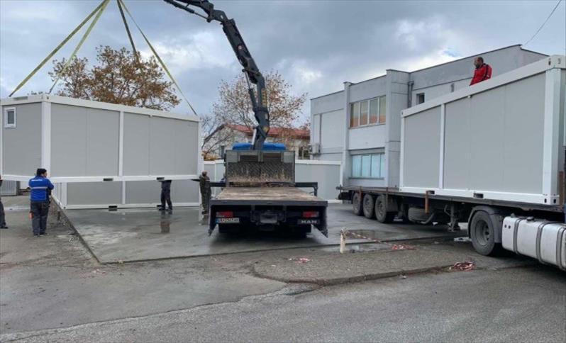 Слика од Во Гевгелија се поставува модуларна болница