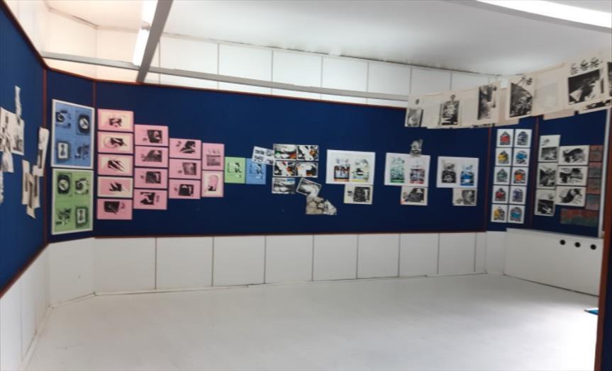 """Слика од Ретроспективна изложба на Љубе Алексовски во галеријата """"КО-РА"""""""