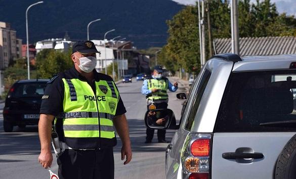 Слика од 58 санкции за брзо возење во Штип и Кочани