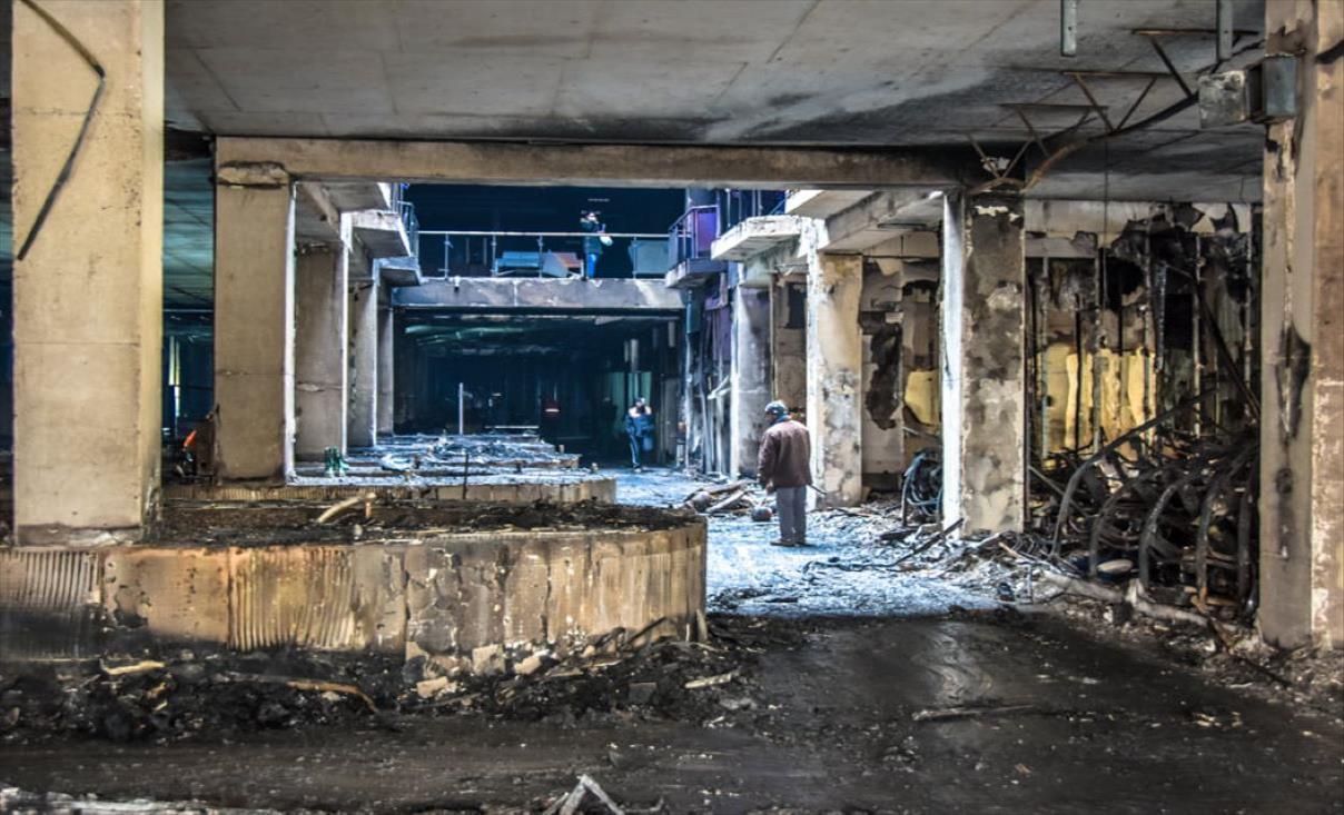 """Слика од Почна пријавувањето на штетите од пожарот во """"Глобал"""" во Општинската комисија за проценка"""