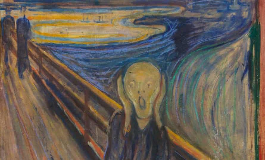 """Слика од Истражување: Мистичниот натпис на """"Врисок"""" е од самиот Едвард Мунч"""