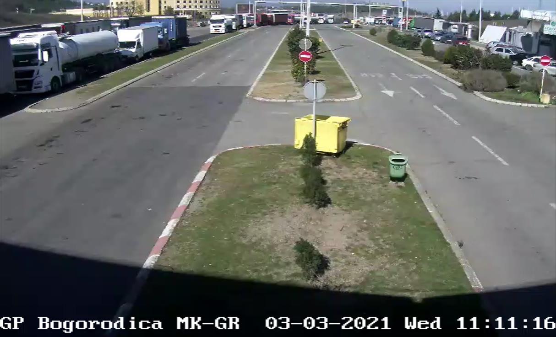 Слика од Грчките камионџии реагираат за новите мерки на граничните премини со Македонија и Албанија