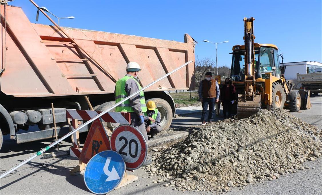 Слика од Поставување на атмосферска канализација на улица Радушка