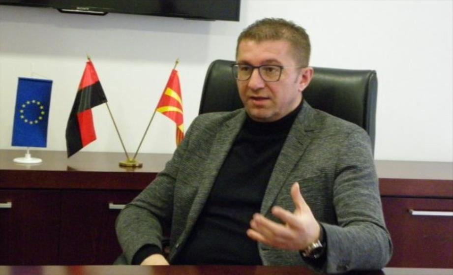 Слика од Мицкоски: Случувањата во Собрание беа израз на слабост, со закани и уцени Заев купи уште некој ден живот на Владата