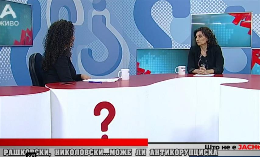 """Слика од Ивановска: Ако треба ќе ги """"чешламе"""" и Заев и Спасовски, следната недела отвараме случај за """"Мафија"""""""
