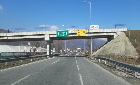 Слика од Умерен сообраќајот на патните правци