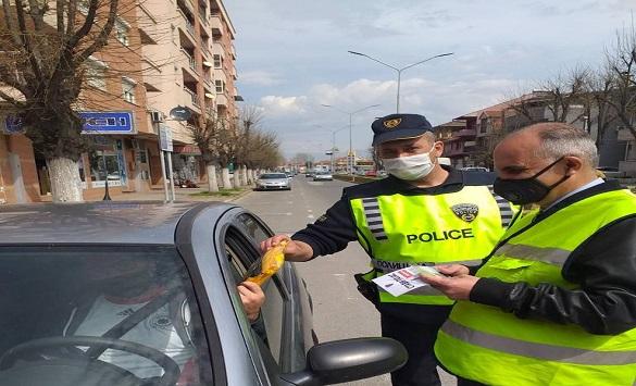 """Слика од РСБСП: """"Стави  појас!"""",засилени контроли од страна на сообраќајната полиција"""