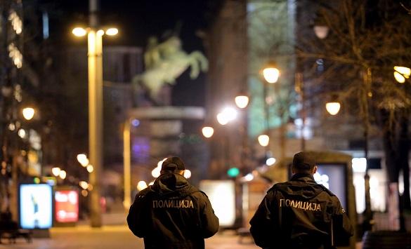 Слика од 36 прекршувања на забраната за движење, 434 санкции за неносење маска
