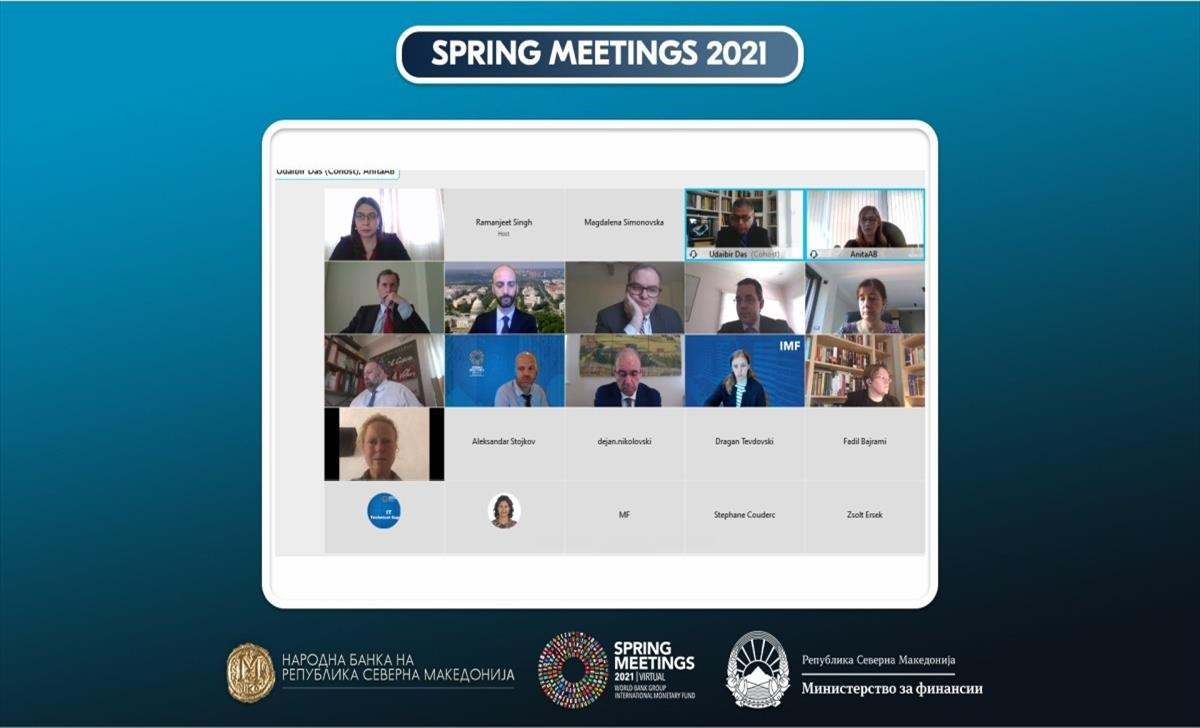Слика од Пролетни средби на ММФ и Светската банка: Мерките на НБ придонесоа за јакнење на стабилноста на банкарскиот систем и кредитирањето