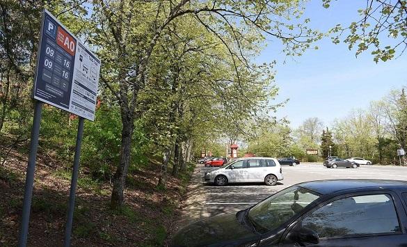 Слика од Паркингот на Водно во текот на викендот го искористиле 636 возила