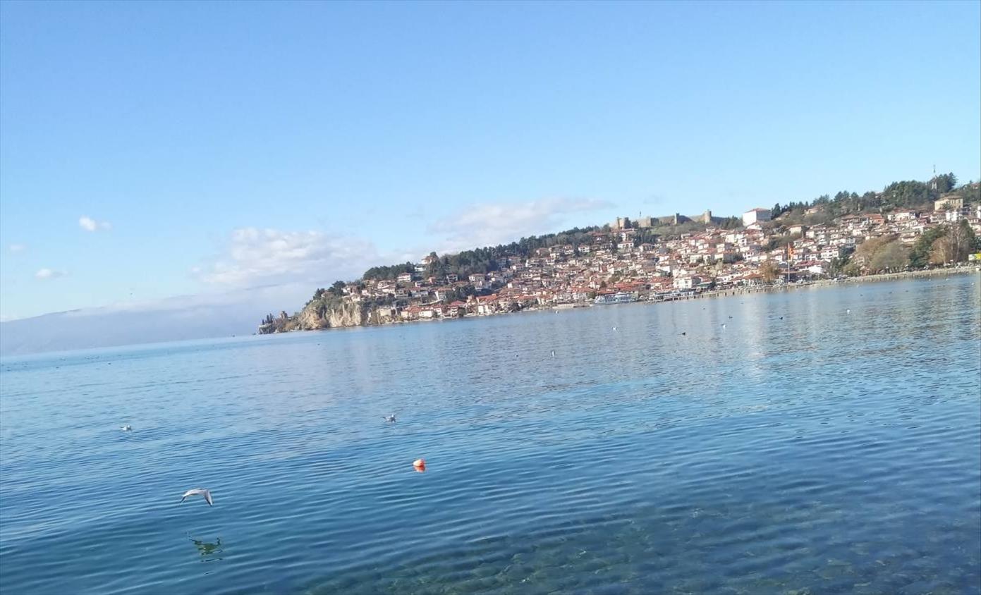 Слика од Зголемен водостојот на Охридското Езеро