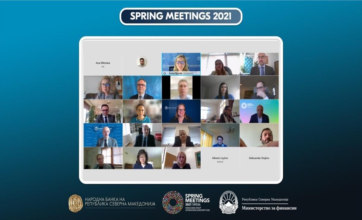 Слика од Состанок со Бјерде од СБ: Сите податоци упатуваат дека банкарскиот систем е стабилен