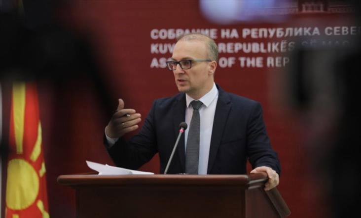 """Слика од Милошоски: Во случајот """"Мафија"""" кај Спасовски има и политичка и морална одговорност"""