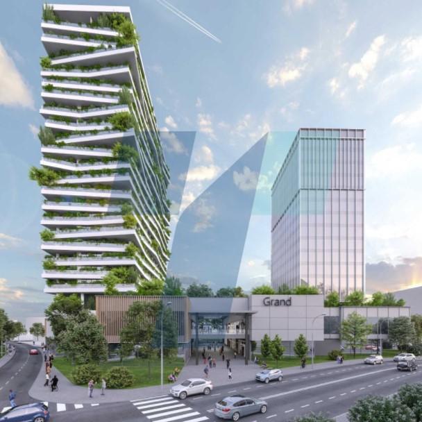 Зградата кај Холидеј Ин ќе биде со 400 станови за околу 1.200 до 1.300 луѓе, вели архитектот на истата Пановски