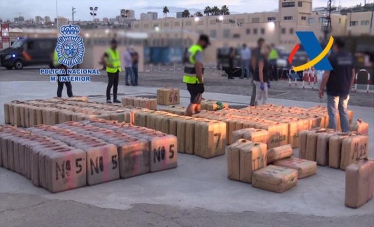 Слика од Европол: Албанија извор на дрога, пратките со канабис се транспортираат главно по морски пат до Италија