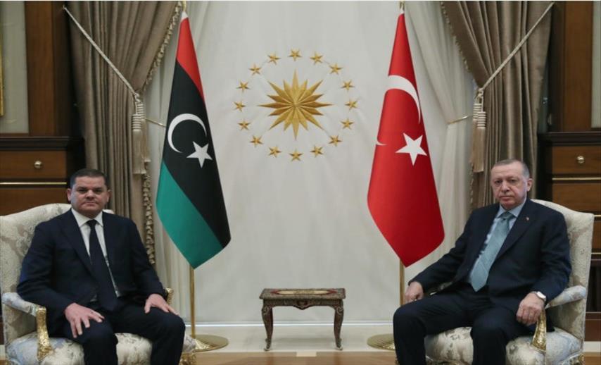Слика од Ердоган: Турската поддршка на Либија спречи пад на Триполи, нови крвопролевања и овозможи примирје
