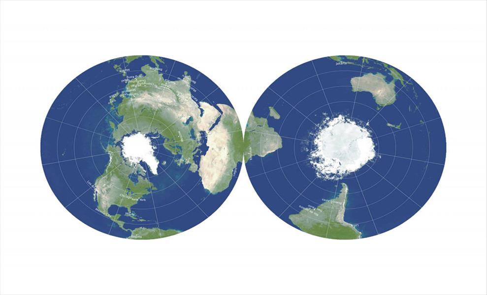 Слика од Сите мапи на светот што ги знаете се погрешни