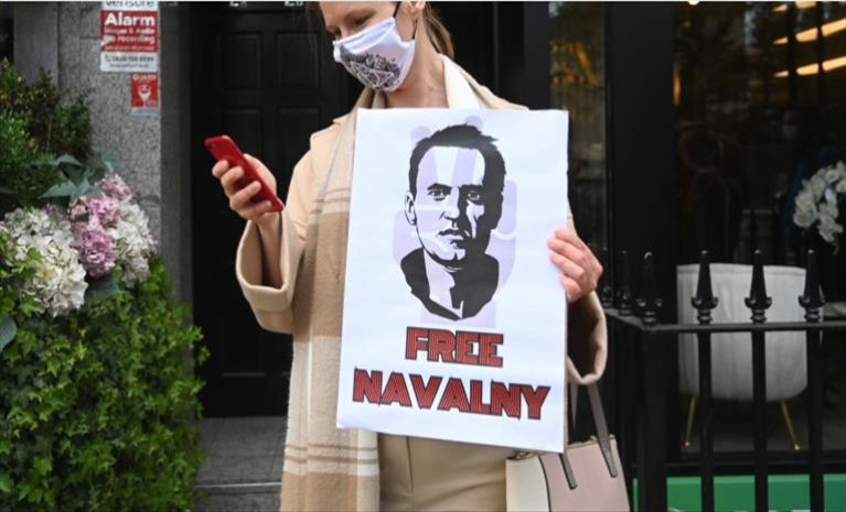 """Слика од Руската опозиција против планираниот закон """"анти Навални"""""""