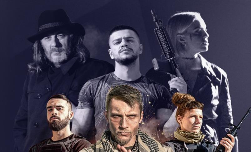 Слика од Премиера на трејлерот за новиот македонски акциски серијал BLACK OPS