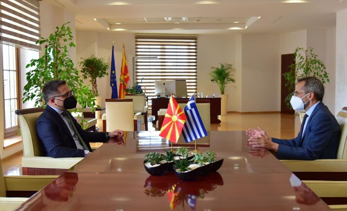 Слика од Бесими-Кундурос: Има голем потенцијал за продлабочување на економската соработка со Грција