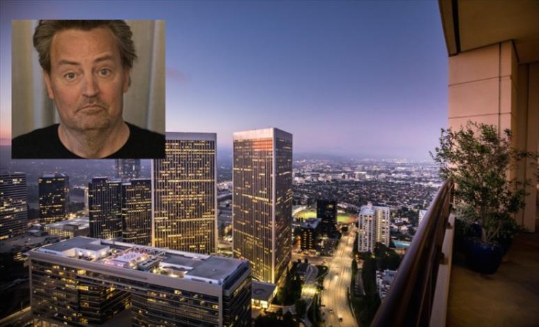 Слика од Метју Пери го продаде луксузниот стан во Лос Анџелес за над 21 милион долари