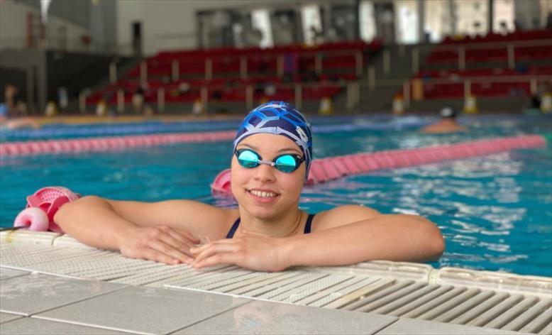 Слика од Пливачката Миа Блажевска Еминова обезбеди норма за настап на Олимпијадата во Токио