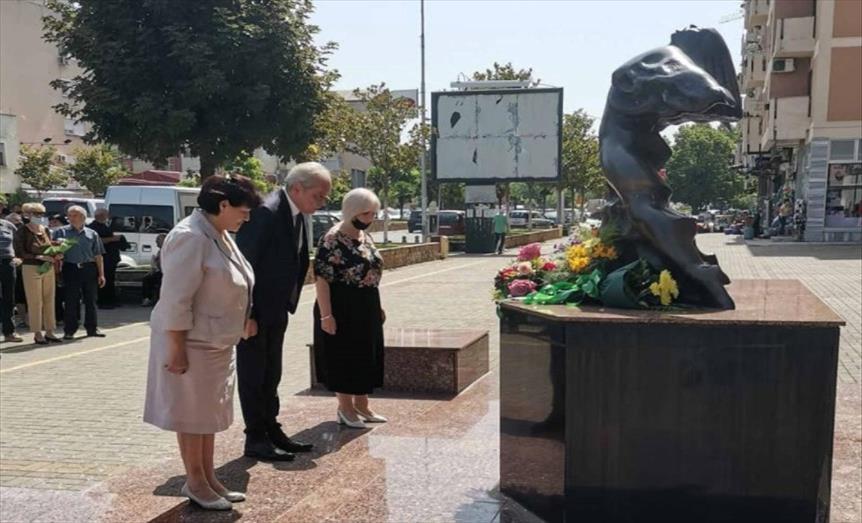 Слика од Одбележана годишнината од загинувањето на бранителот Атанас Јанев