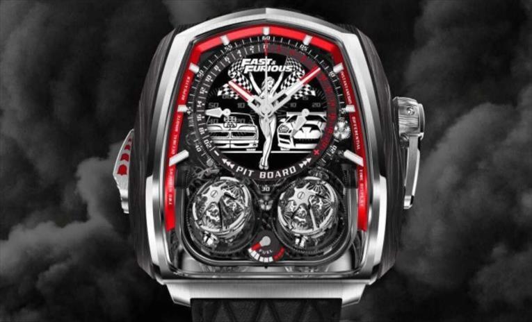 """Слика од """"Брзи и бесни 9"""" претстави нов луксузен часовник"""
